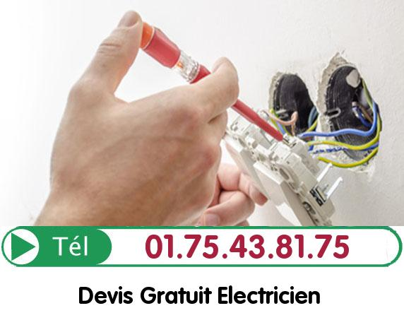 Recherche de panne électrique Bailly 78870