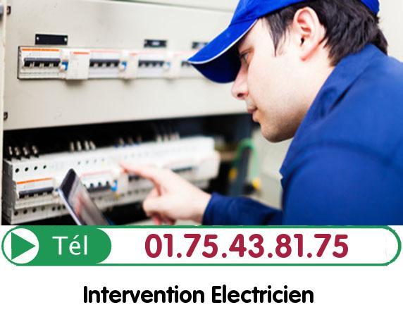Recherche de panne électrique Bouffemont 95570