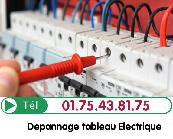 Recherche de panne électrique Butry sur Oise 95430
