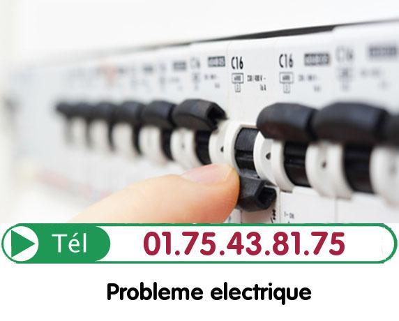 Recherche de panne électrique Chaumontel 95270