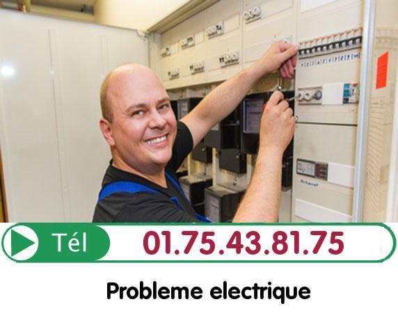 Recherche de panne électrique Compiegne 60200