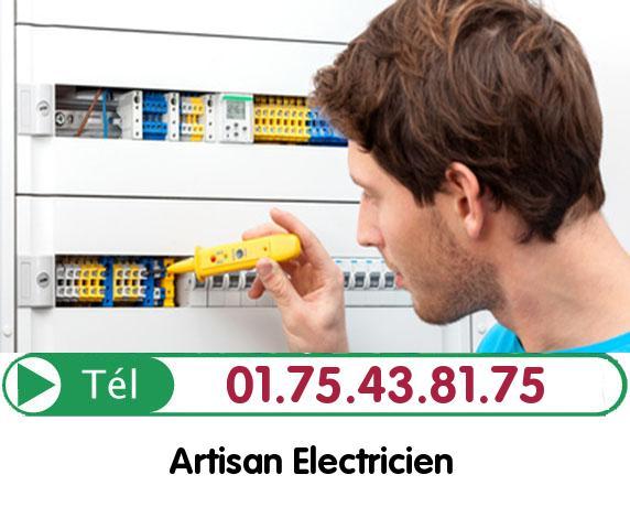 Recherche de panne électrique Cregy les Meaux 77124
