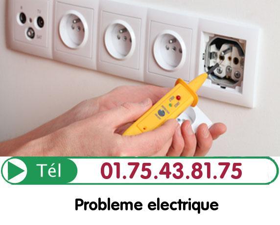 Recherche de panne électrique Crepy en Valois 60800
