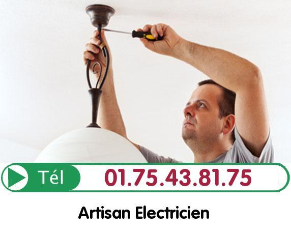 Recherche de panne électrique Fosses 95470