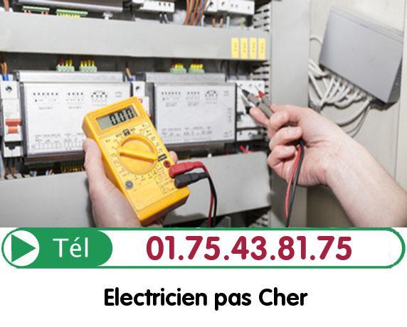 Recherche de panne électrique Freneuse 78840