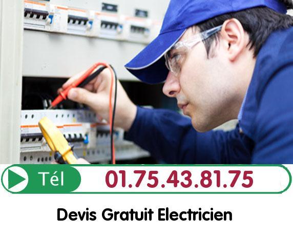 Recherche de panne électrique Jouy le Moutier 95280