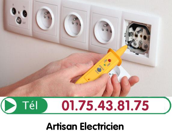 Recherche de panne électrique Le Bourget 93350