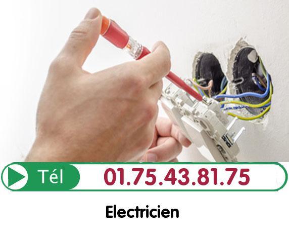 Recherche de panne électrique Le Thillay 95500
