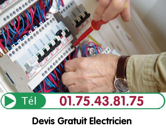 Recherche de panne électrique Luzarches 95270