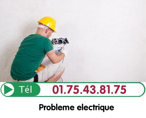 Recherche de panne électrique Maurecourt 78780