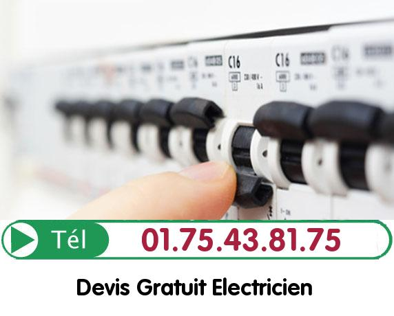 Recherche de panne électrique Montesson 78360