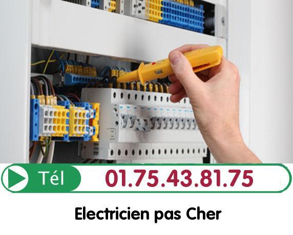 Recherche de panne électrique Nanteuil les Meaux 77100