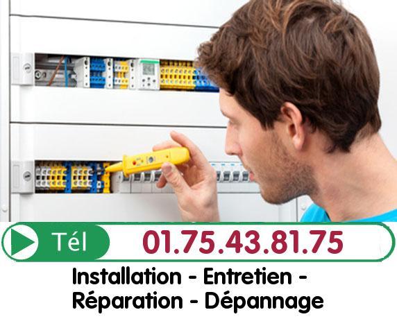 Recherche de panne électrique Pierrelaye 95480