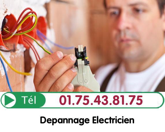 Recherche de panne électrique Saint Witz 95470