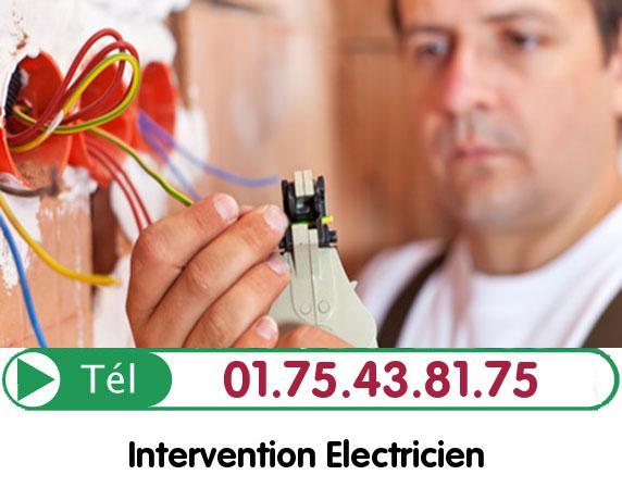 Recherche de panne électrique Survilliers 95470