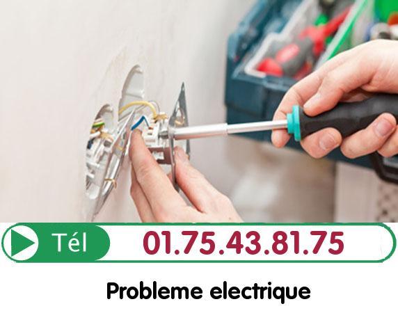 Recherche de panne électrique Vaureal 95490