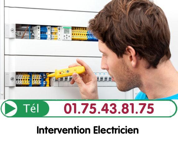 Recherche de panne électrique Vaux le Penil 77000