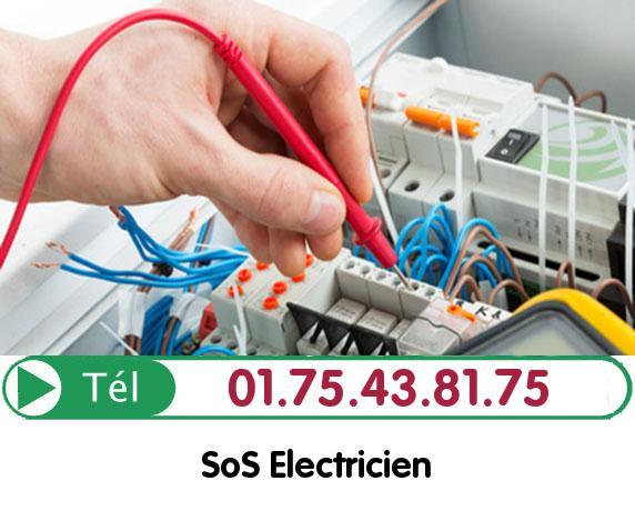 Recherche de panne électrique Vemars 95470