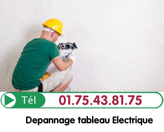 Recherche de panne électrique Villennes sur Seine 78670